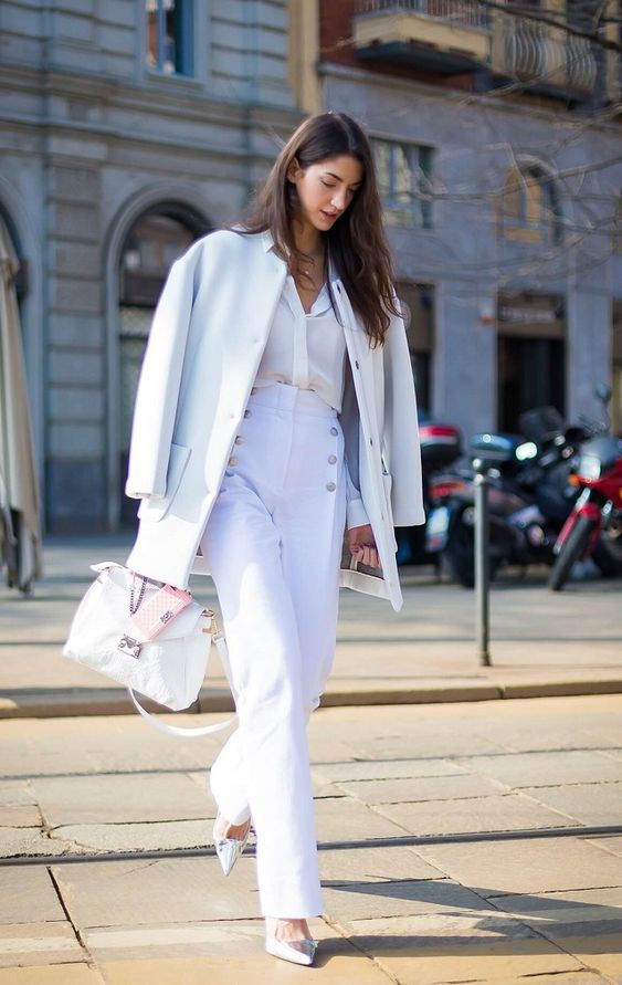 outfit blanco